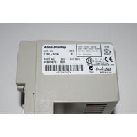 ALLEN BRADLEY 1794-ADN SER B P/N 96256075 DEVICE NET ADAPTER FLEXIBUS 19-31VDC IN 24VDC OUT