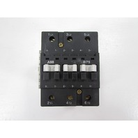 ABB B75 600V 105 AMP WITH ABB CAL7-11 AUXILLIARY CONTACT