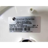 AMERICAN DYNAMICS ADCA3DWIC2N SECURITY CAMERA