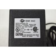 * NEW CUI DV-1230 DPD120030-P5 12VDC 300mA AC POWER ADAPTER