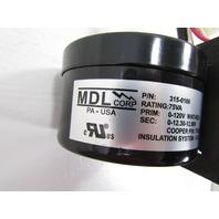 NEW MDL 315-0166 RADIATOR COOLING FAN MOTOR 75VA 0-120V