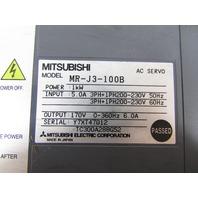 MITSUBISHI MR-J3-100B AC SERVO
