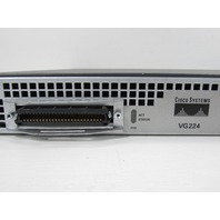 CISCO VG224 ANALOG PHONE VOICE GATEWAY VOIP 24 PORT