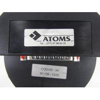 MCB ATOMS COD 100-24 SHAFT ENCODER
