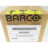 BARCO PROJECTOR LAMP R9849900 350 HOURS ONLY 400W MH 6400 SERIES/2