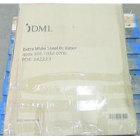 * NEW DMI 501-1032-0700 EXTRA WIDE STEEL ROLATOR WEIGHT CAPACITY 375 LBS