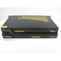 * QTY. (1) RUGGEDCOM RX1000-F-RM-48-48-XX-XX-TX01-TX01-TC2-XXX-XX INDUSTRIAL STRENGTH NETWORKS ROUTER