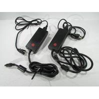 LOT OF (2) DELTA ELECTRONICS ADP-37BB AC ADAPTER INPUT 100-240V-1A, 50-60 Hz