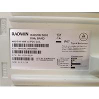 ~ RADWIN 5000 RW-5510-0230 SUBSCRIBER UNIT 3GHz HSU 510 10M 3X VER: 6.3.3.10