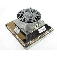 * NEW RITTAL SK 3325607 EMC FILTER FAN 156CFM 230V 50/60HZ RAL7035 TYPE 12