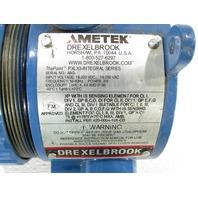AMETEK  DREXELBROOK PXLX3-14-A2B1 LINE POWERED LEVEL SWITCH INTEGRAL SERIES