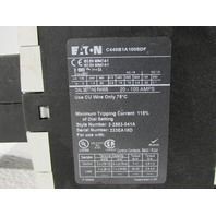 EATON CUTLER HAMMER C440B1A100SDF C440 OVERLOAD RELAY
