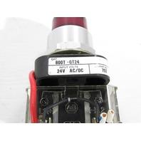 ALLEN BRADLEY 800T-QT24 30MM PILOT LIGHT