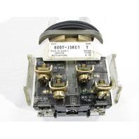 ALLEN BRADLEY 800T-J5KC1 30MM SELECTOR SWITCH