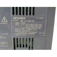 MITSUBISHI MR-J4-40B-EB AC SERVO DRIVE