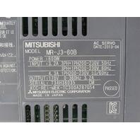 MITSUBISHI MR-J3-60B AC SERVO DRIVE