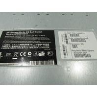 HP HSTNM-N019 STORAGE WORK 8/8 SAN SWITCH P/N AM867AR