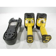 LOT OF 2 SYMBOL KCC-CRM-SK1-DS3578 BARCODE SCANNER WITH CHARGER