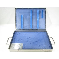 "* 3M MEDICAL 3989 AUTO SUTURE STAPLER CASE 15 x 10-1/2 x 1-1/2"" STAINLESS STEEL"