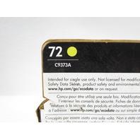 NEW HP 72 DESIGNJET C9373A YELLOW COLOR INKJET CARTRIDGE