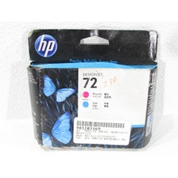 NEW HP 72 DESIGNJET C983A MAGENTA AND CYAN  COLOR INKJET CARTRIDGE