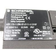 SCHMERSAL AZM170-11ZRK-ST-2111-1/2197 24VAC/DC  SAFETY INTERLOCK SWITCH 24VAC/DC