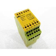 PILZ PNOZ X3 110VAC 24VDC 3N/O 1N/C 1SO SAFETY RELAY
