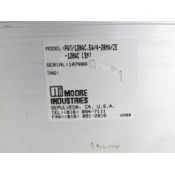 MOORE INDUSTRIES PWT/120AC.5A/4-20MA/2E-120AC WATTAGE TRANSDUCER