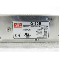 MEAN WELL Q-60B POWER SUPPLY