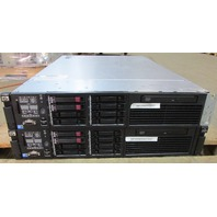 LOT OF (2) HP PROLIANT DL380 G7 6G SAS 72GB RAM SERVERS