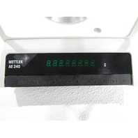 * METTLER AE 240 AE240-S DIGITAL ANALITICAL BALANCE SCALE