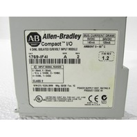 ALLEN BRADLEY 1769-IF4I COMPACT I/O 4 CHANNEL CURRENT/VOLTAGE INPUT MODULE