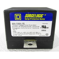 SQUARE D  MA1MA16 TRANSIENT SURGE SUPPRESSOR SURGELOGIC