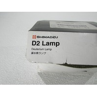 SHIMADZU DEUTERIUM LAMP P/N 062-65055-05 FOR UV SPECTROPHOTOME