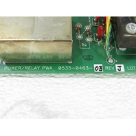 HARDY INSTRUMENT 0534-0463-01 REV E POWER RELAY