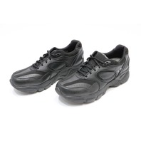 * NEW APEX X801 DIABETIC MEN'S BLACK SHOES 15 MED X801MM15
