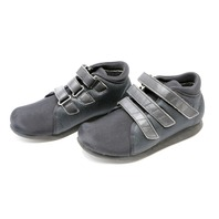 * NEW MT. EMEY 739-XW-BLK MENS ELASTIC POST OP SHOES SIZE 10