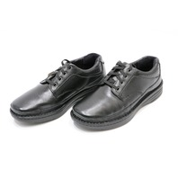 * NEW DREW TOLEDO BLACK CALF THERAPEUTIC DIABETIC SHOE SIZE 9 6E