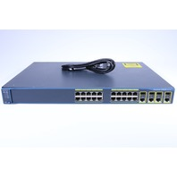 CISCO WS-C2960G-24TC-L  CAT2960G 24 10'100'1000 4 T'SFP LAN BASE
