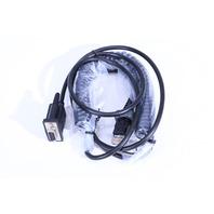 NEW SICK CRR08 RS232 SPIRAL CABLE 10P RJ45 3.8m (M) TO 9P D-SUB (F), DCJ