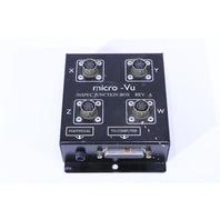 MICRO-VU INSPEC JUNCTION BOX REV A