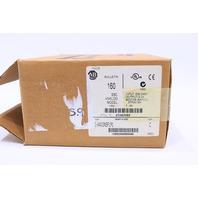 * NEW ALLEN BRADLEY 160-AA02NSF1P1 C ANALOG S.F SPEED CONTROLLER 0.5HP