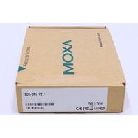 * NEW MOXA EDS-205 V2.1 ETHERNET SWITCH W/ 5 10/100BASET(X) PORTS