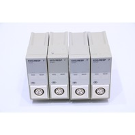 * LOT OF (4) HP M1002A ECG/RESP T MODULE