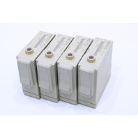 * LOT OF (4) HP M1002A ECG/RESP MODULE