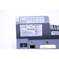 ALLEN BRADLEY 1734-AENTR  2-PORT ETHERNET/IP