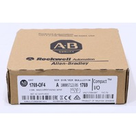 * NEW SEALED 2016 ALLEN BRADLEY 1769-OF4 SER A COMPACTLOGIX I/O MODULE
