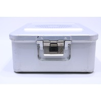 * AESCULAP DBP STERILIZATION CONTAINER CASE 16-3/4 x 10-1/4 x 5""