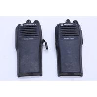 QTY. (1) MOTOROLA RADIUS CP200 4 CHANNEL TWO WAY RADIO AAH50RDC9AA1AN