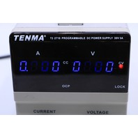 TENMA 72-2710 PROGRAMMABLE DC POWER SUPPLY 30V 5A